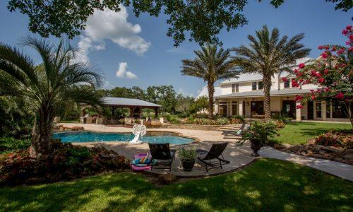 Halletsville Custom Backyard and Pool Houston