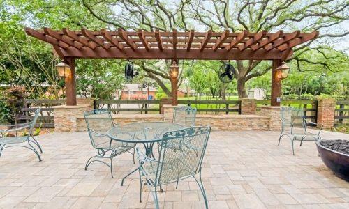 Custom Backyard Outdoor Pergola Houston